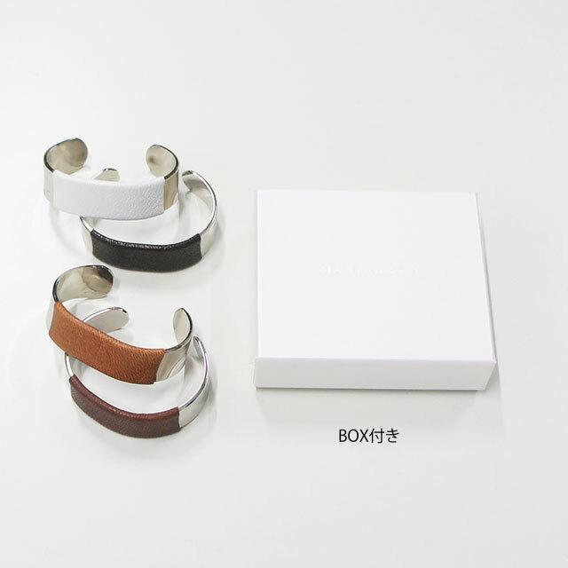 MASTER&Co. マスターアンドコー GOAT/BRASS BANGLE 【返品交換不可】 (品番mc1106)