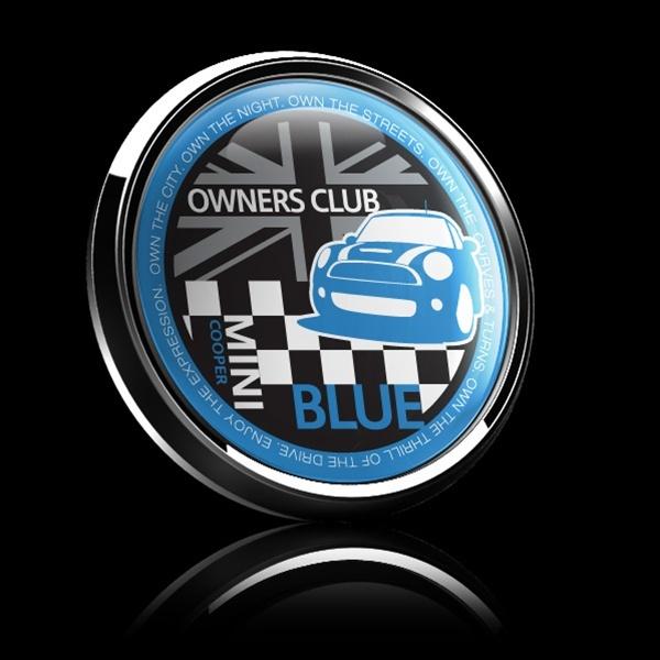 ゴーバッジ(ドーム)(CD0377 - MINI OWNERSCLUB BLUE) - 画像2