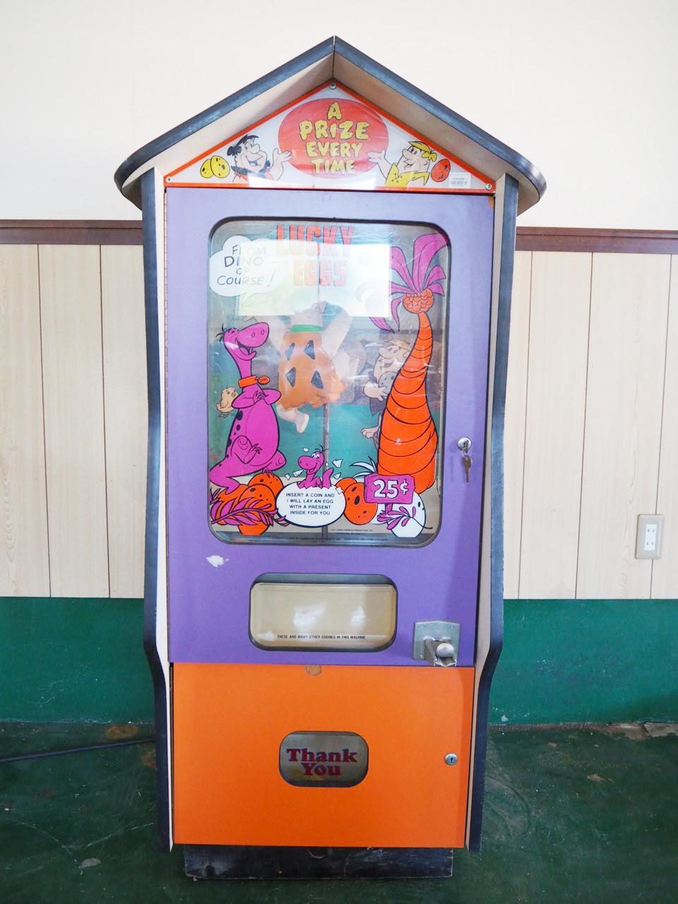 品番2671 ガチャガチャマシン Lucky Eggs Machine ゲーム機 おもちゃ アメリカン ヴィンテージ