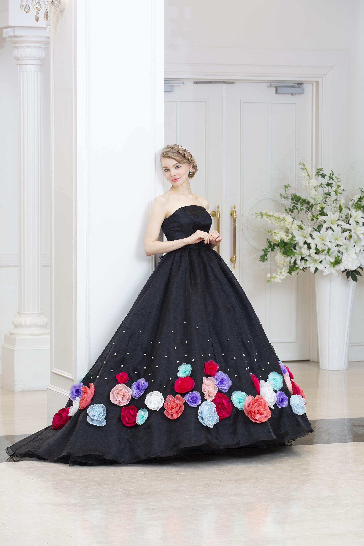 【レンタル】ブラックドレス