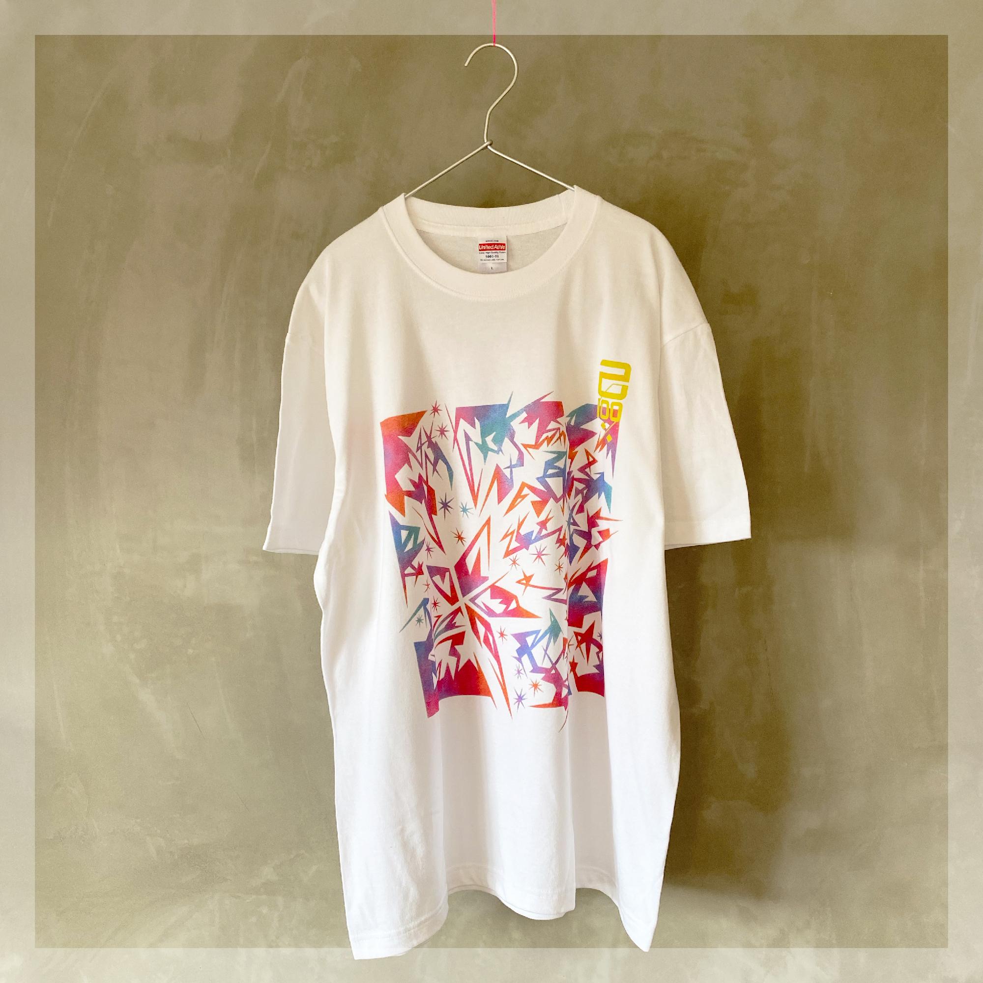 【Tシャツ】 スターダスト・カモフラージュ □ 己100% / ホワイト