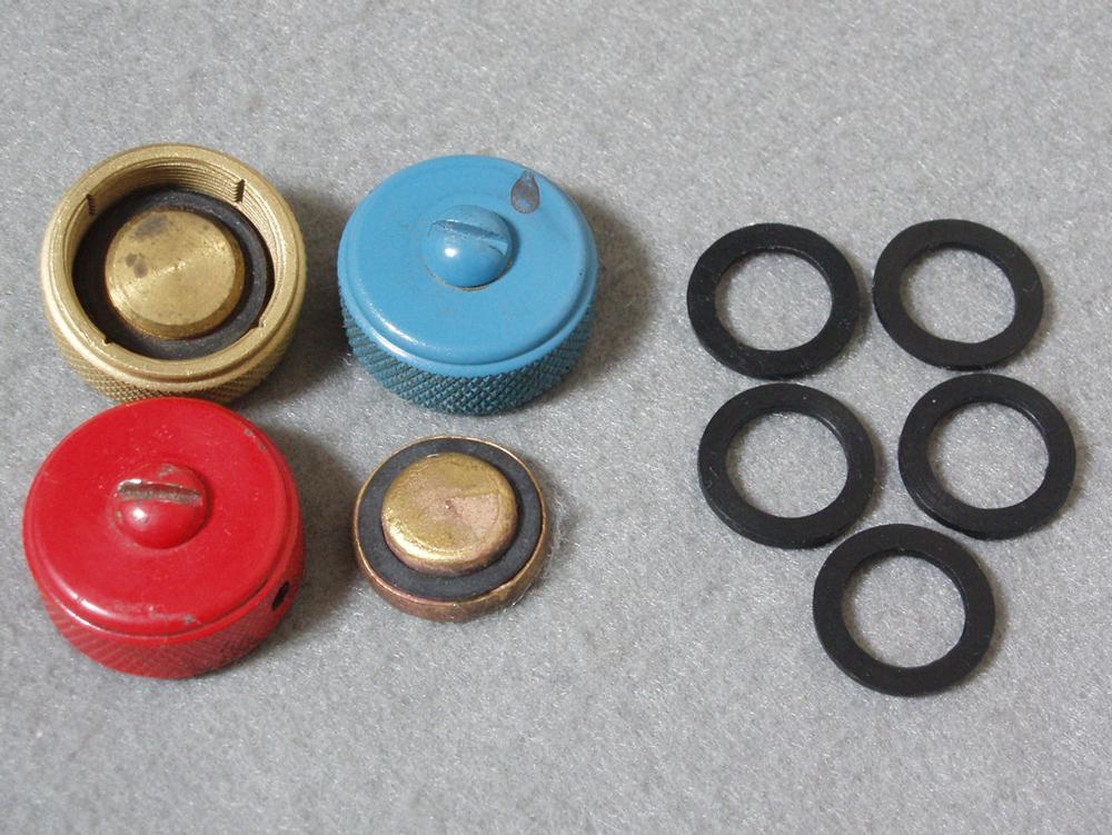 フィラーキャップガスケット 交換用5個セット(ビス付Lサイズ)200Aや502系等に!