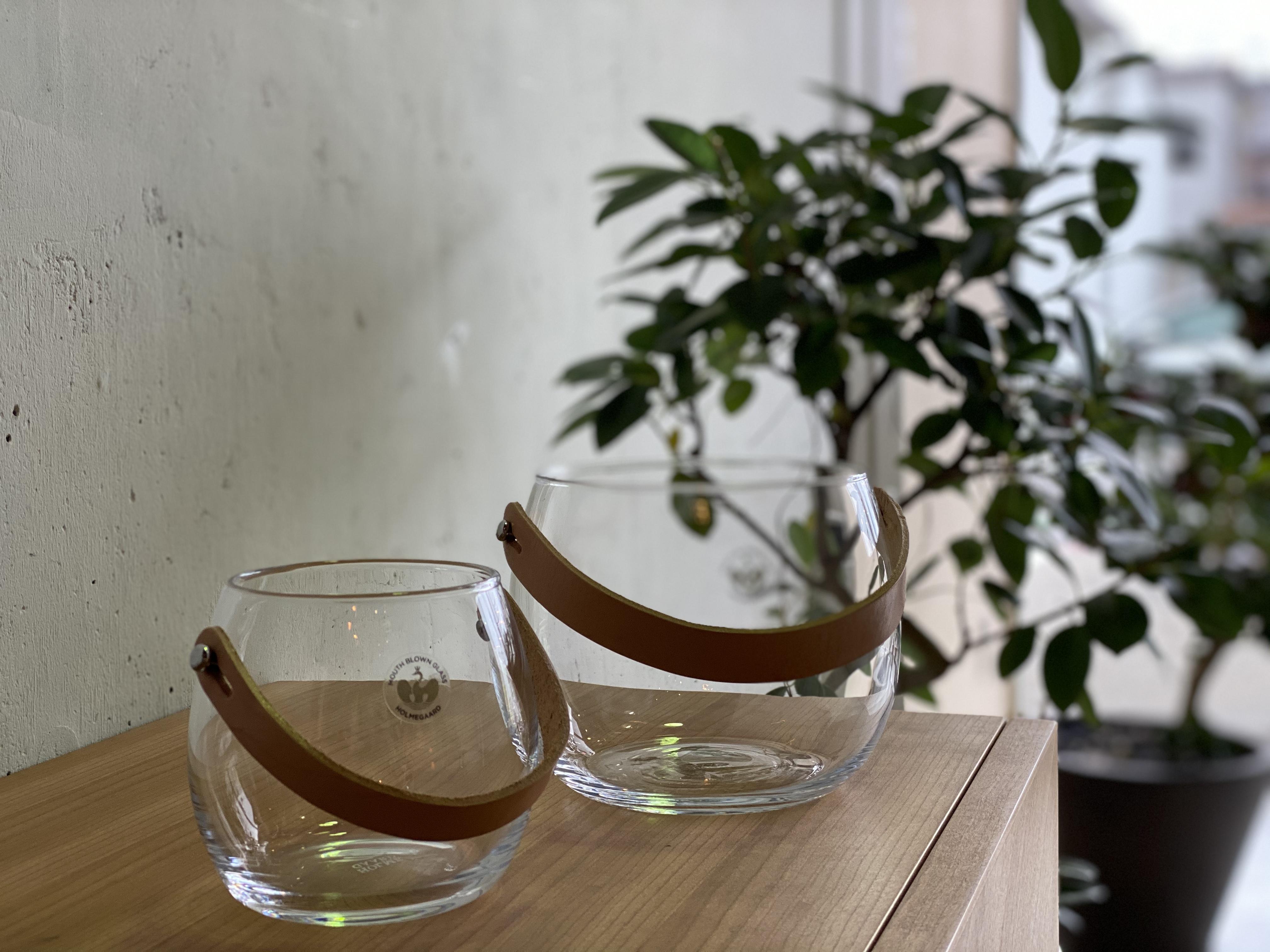 ガラスポットH12cm/デンマーク