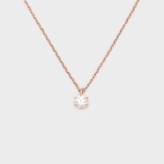 ENUOVE frutta Diamond Necklace K18PG(イノーヴェ フルッタ 0.3ct K18ピンクゴールド ダイヤモンドネックレス スライドアジャスターチェーン)