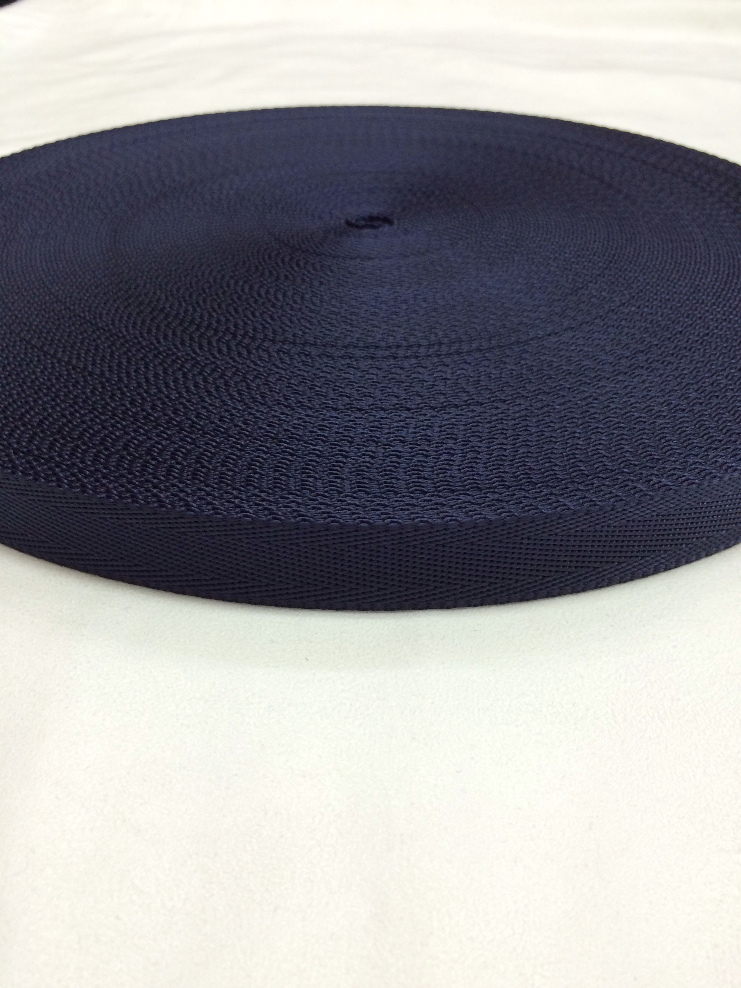 ナイロン シート織 20mm幅 1.3mm厚 カラー(黒以外) 1m