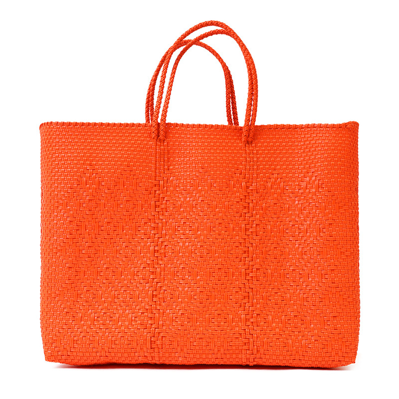 MERCADO BAG ROMBO - Orange (L)