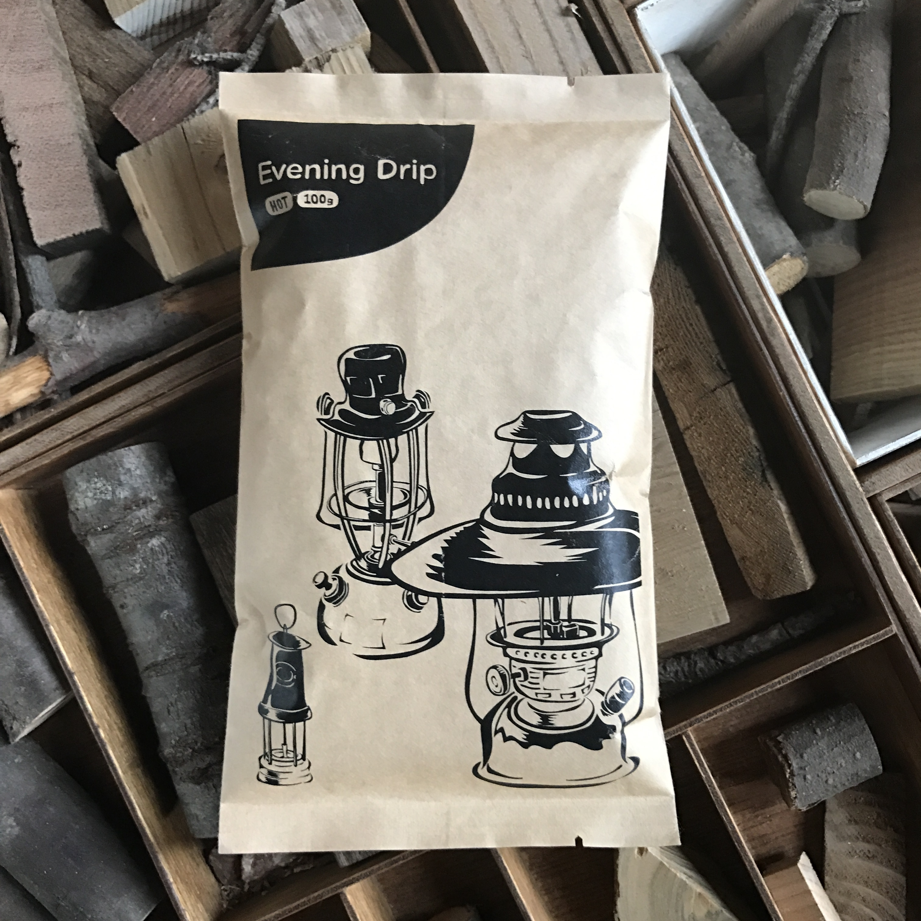 粉or豆 Evening Drip 100