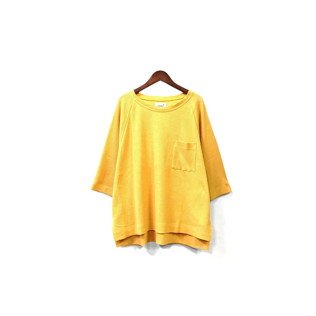 yotsuba - Thermal Tops / Yellow ¥11000+tax
