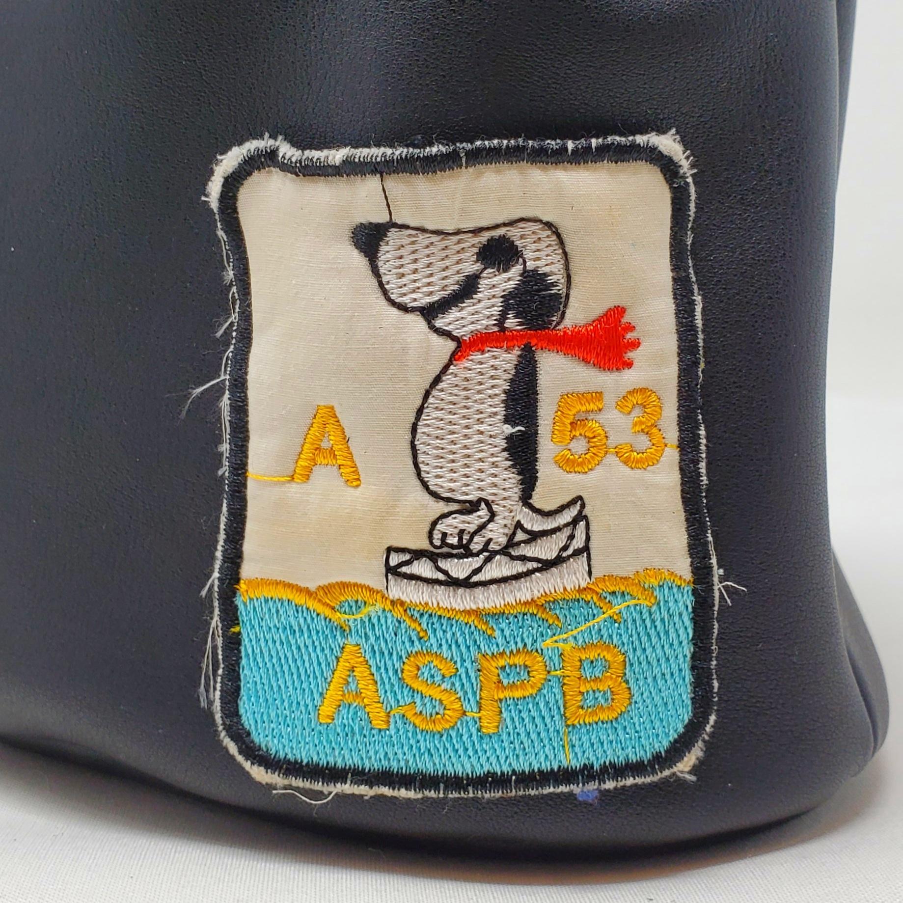"Utility Bag03 ビンテージワッペン ""Snoopy?""01 - 画像5"