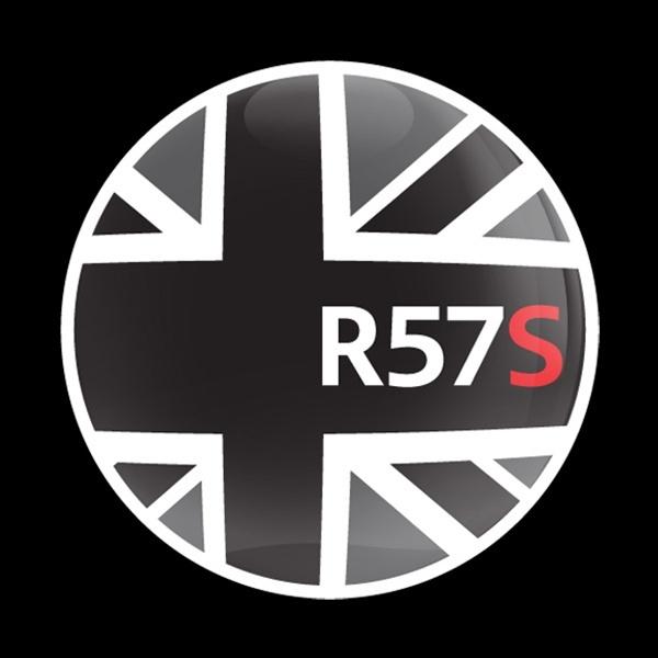 ゴーバッジ(ドーム)(CD0157 - FLAG BLACKJACK R57S) - 画像1