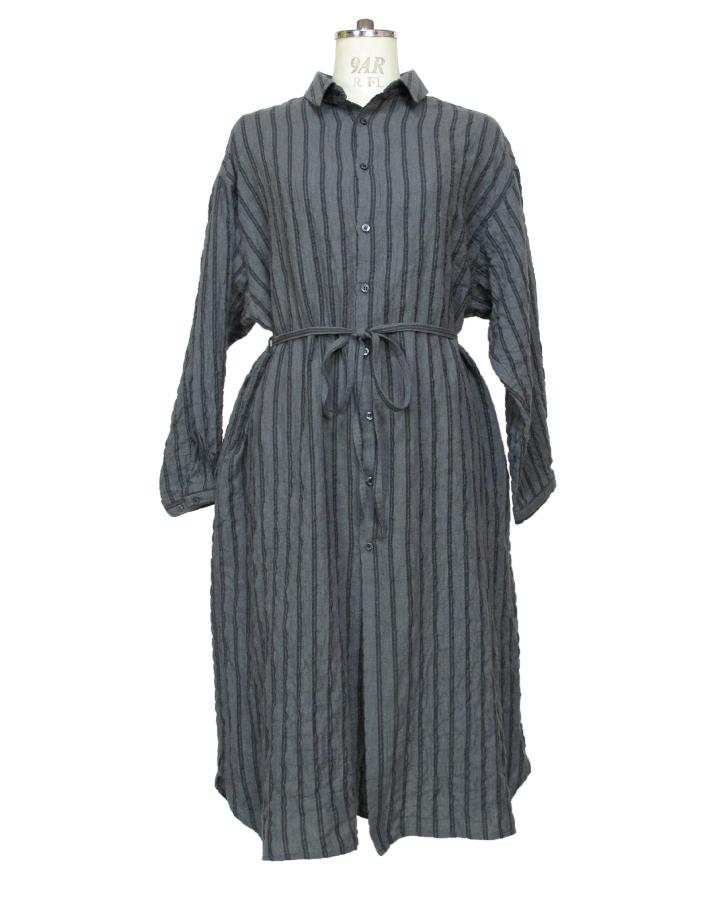 stripe long shrts - 画像3