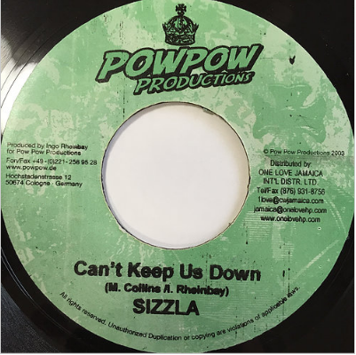 Sizzla(シズラ) - Can't Keep Us Down【7'】