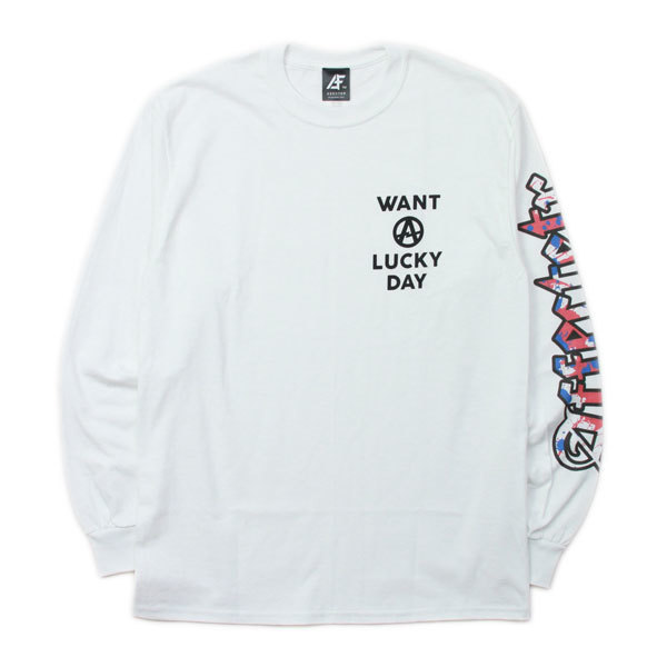 AFFECTER (アフェクター) | WANT LUCKY L/S Tee (Black)