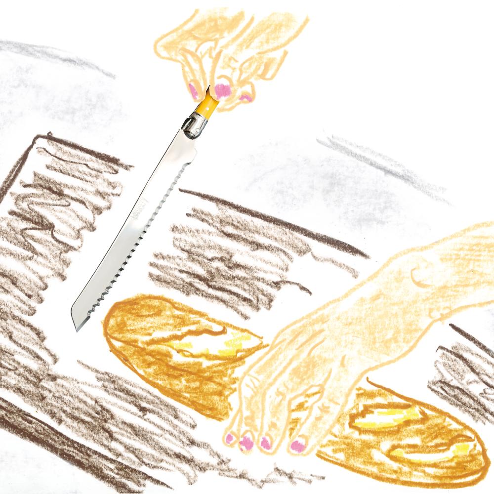 ジャンデュボ ライヨール:ブレッドナイフ
