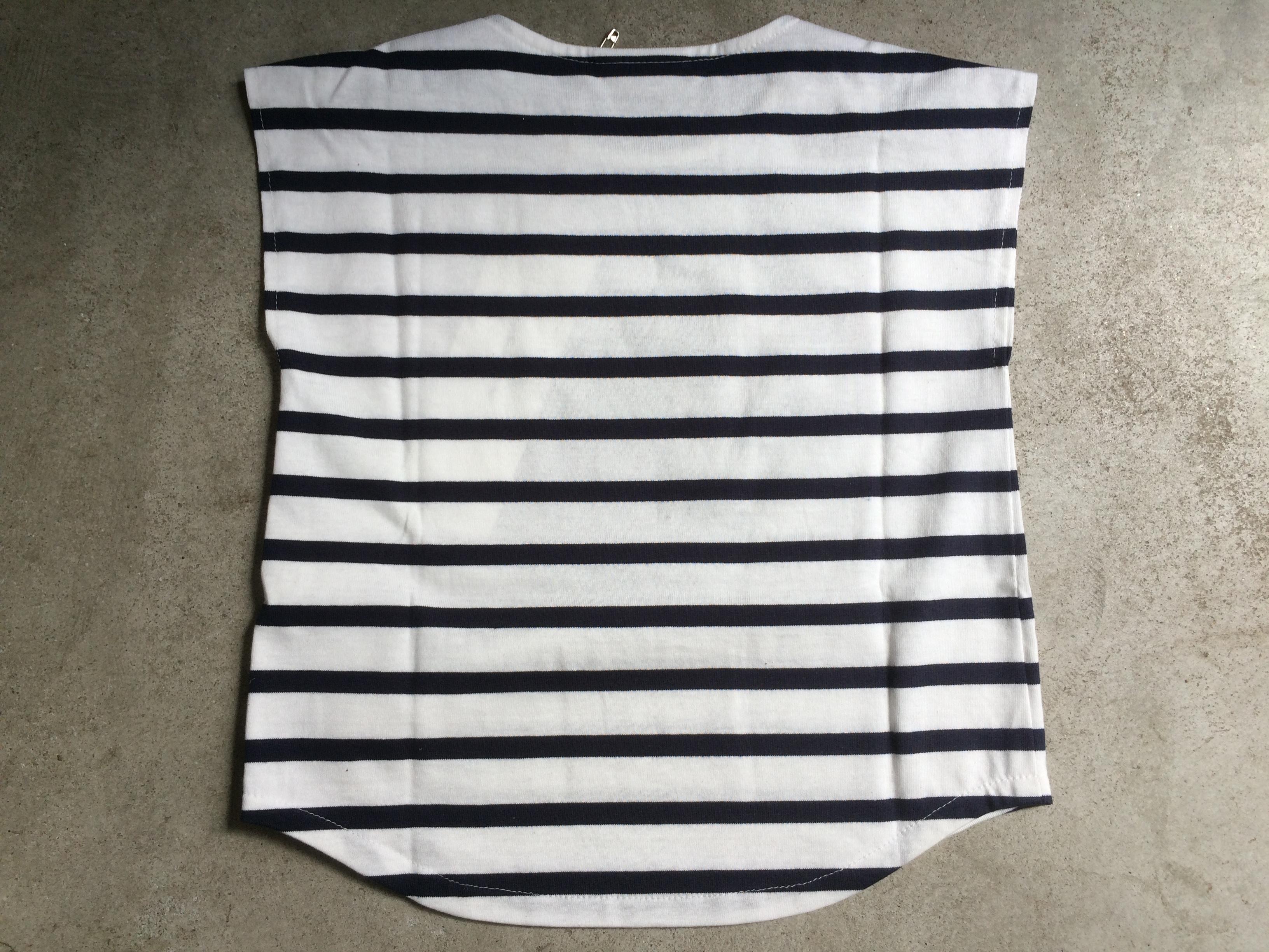 tumugi フレンチブルドックTシャツ 100ボーダー