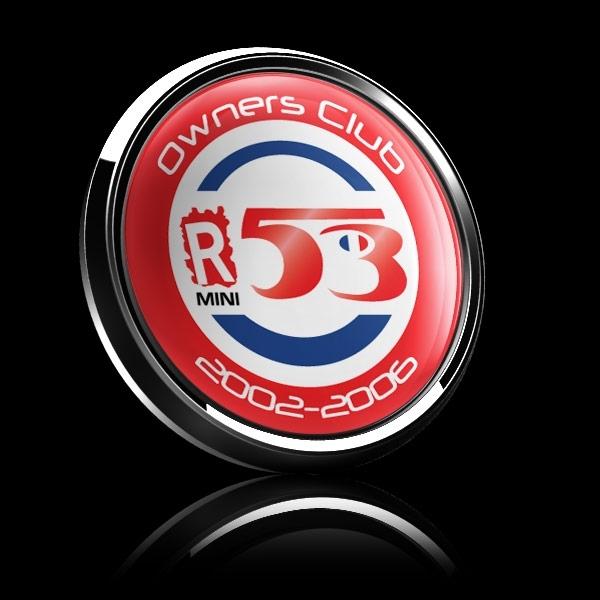 ゴーバッジ(ドーム)(CD0816 - CLUB Owners Club R53) - 画像2