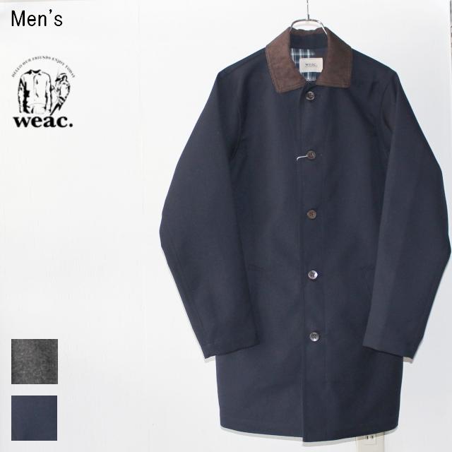 weac. ウィーコート WEA COAT(NAVY / コットン×ウール) 【Men's】