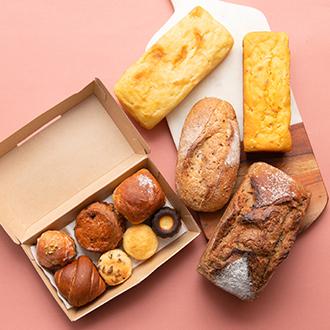 "【BEAVER BREAD】ビーバーブレッドの""美味しいところ""よりどりみどり新麦パンセット"