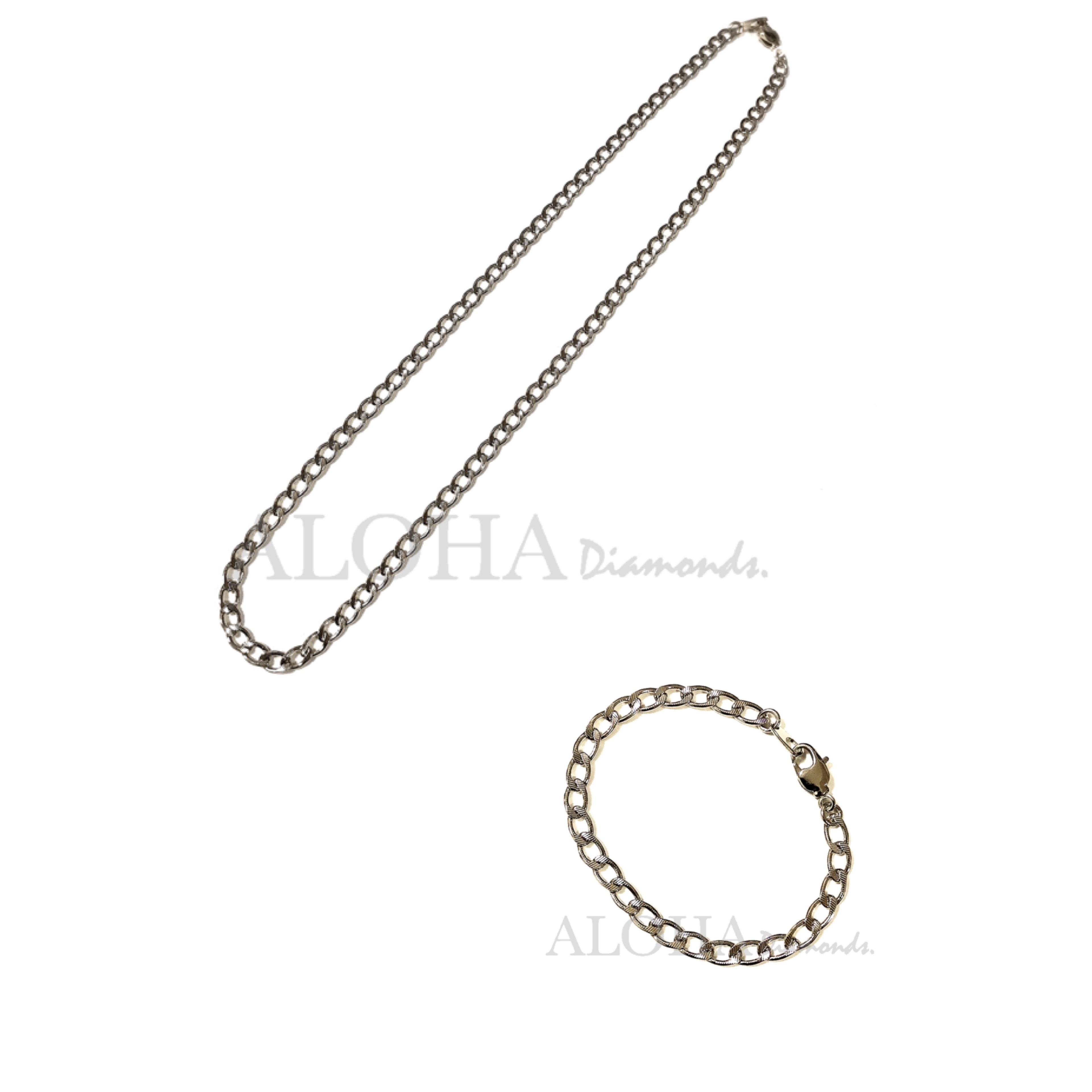 ✴︎✴︎✴︎The chain - No.5✴︎✴︎✴︎ シルバー/ネックレス・ブレスレット セット
