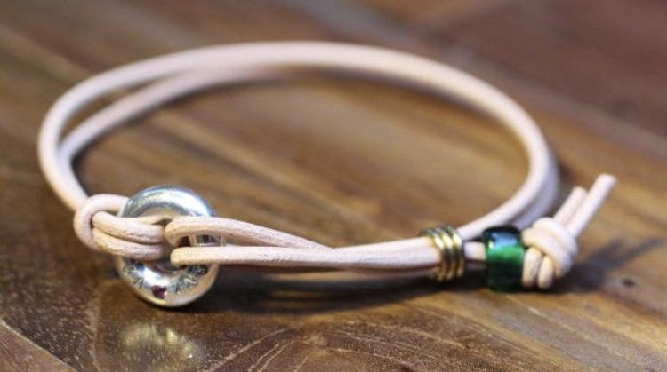 Gaing  Portion Bracelet(NAT Leather)