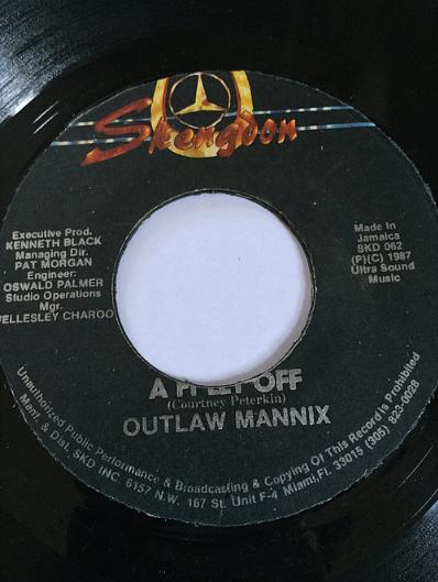 Outlaw Mannix(アウトローマニックス) - A Fi Let Off【7'】