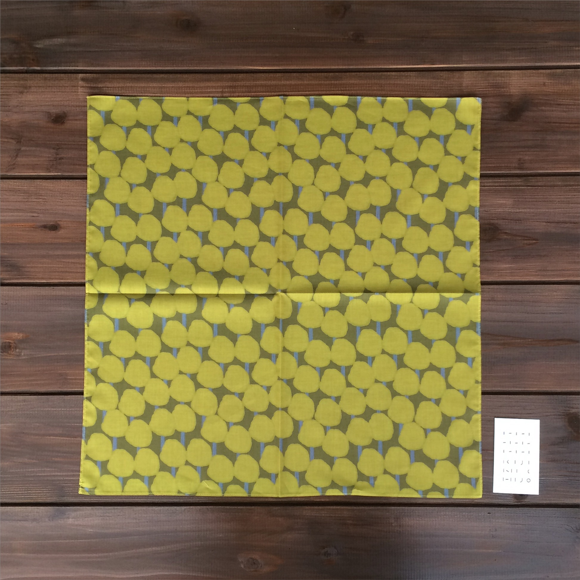 綿ローンハンカチーフ(陽だまり)size:50cm×50cm