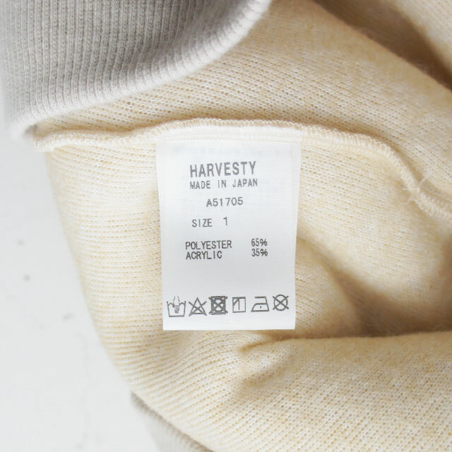 HARVESTY ハーベスティ ボアビッグエッグプルオーバー (品番a51705)