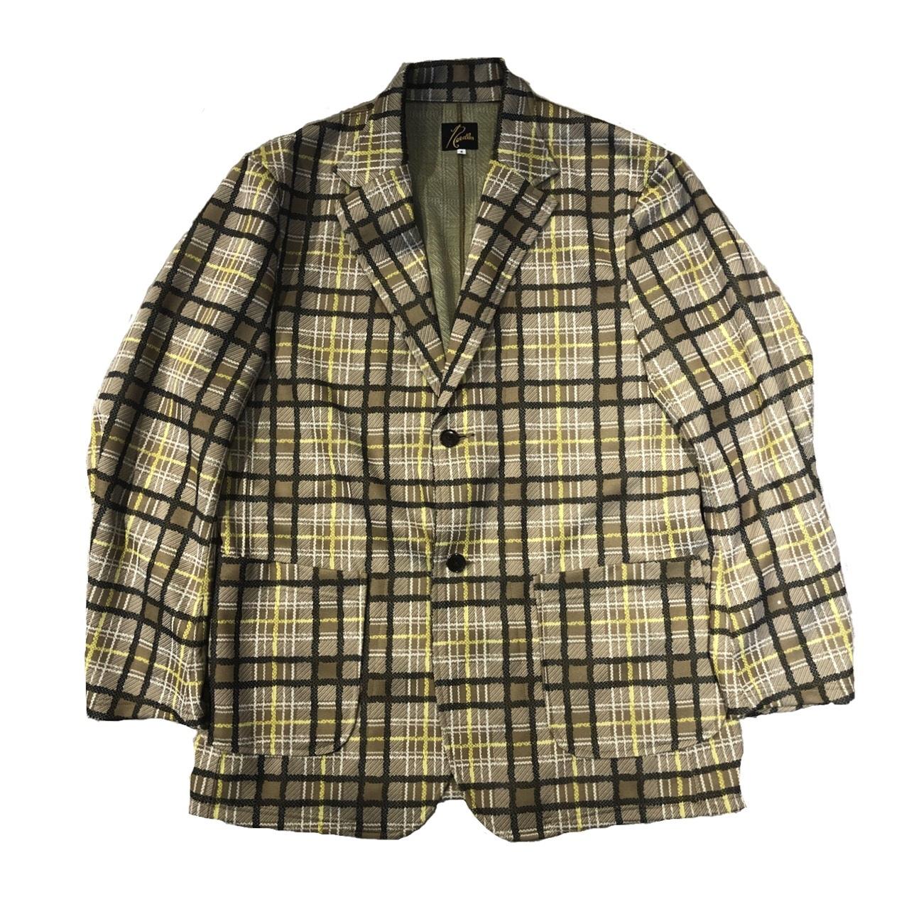 NEEDLES Jersey Jacket Check