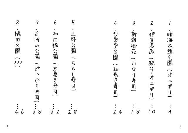 漫画 - 『2011お花見日記』改訂版