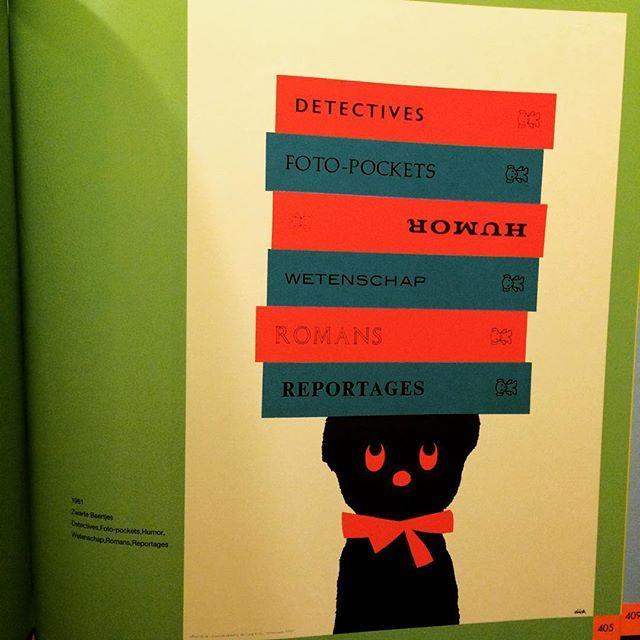デザインの本「Zwarte Beertjes ディック・ブルーナ 装丁の仕事」 - 画像2