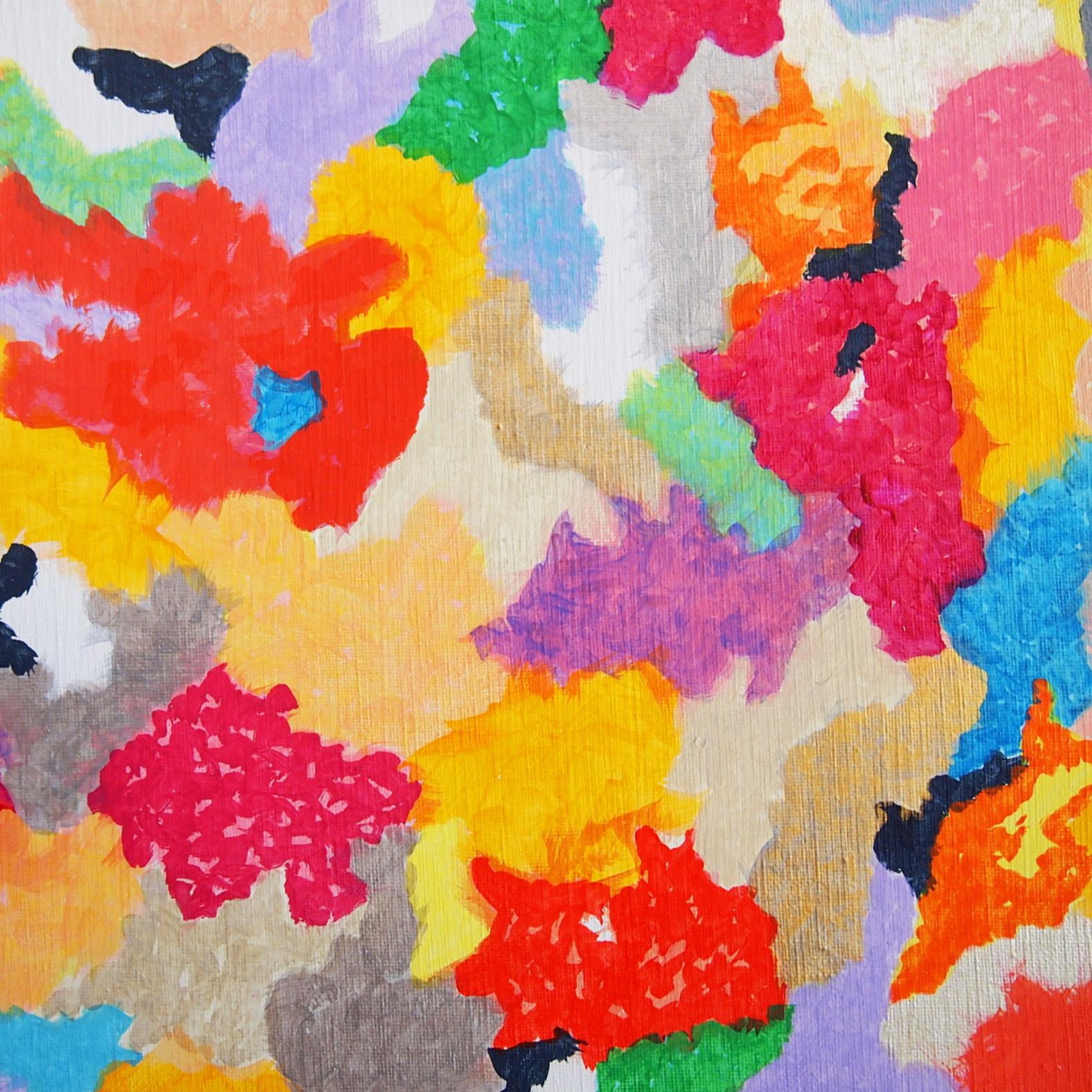 絵画 インテリア アートパネル 雑貨 壁掛け 置物 おしゃれ 現代アート 楽園 ロココロ 画家 : 眞野丘秋 作品 : 楽園のエネルギー #1