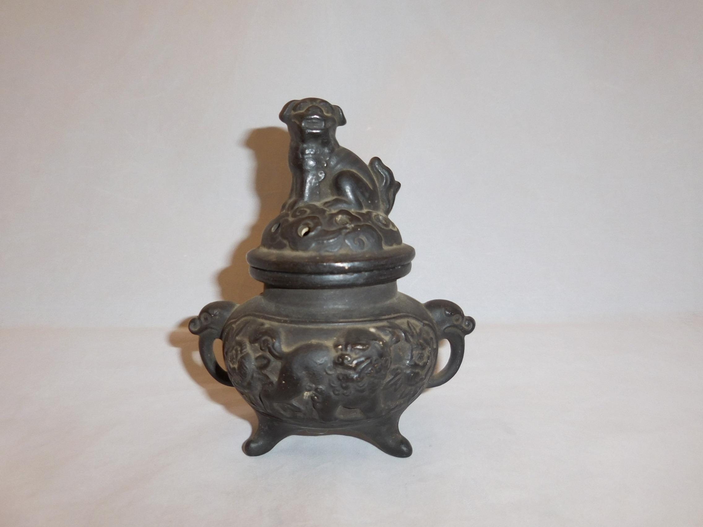 陶器香炉 pottery incense burner(No15)