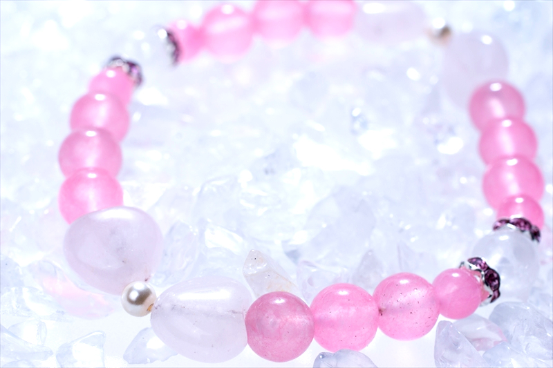 pinky pinky【パワーストーンブレスレット 】 - 画像1