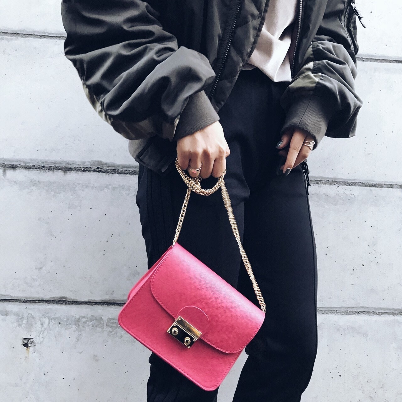 Compact Shoulder Bag