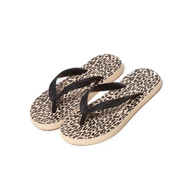 CYAARVO × CAPTAINS HELM #Leopard Flip Flop
