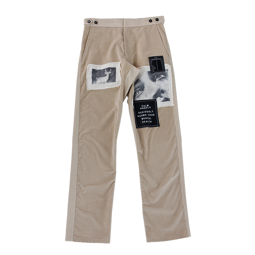 PALM ANGELS Patchwork Trousers