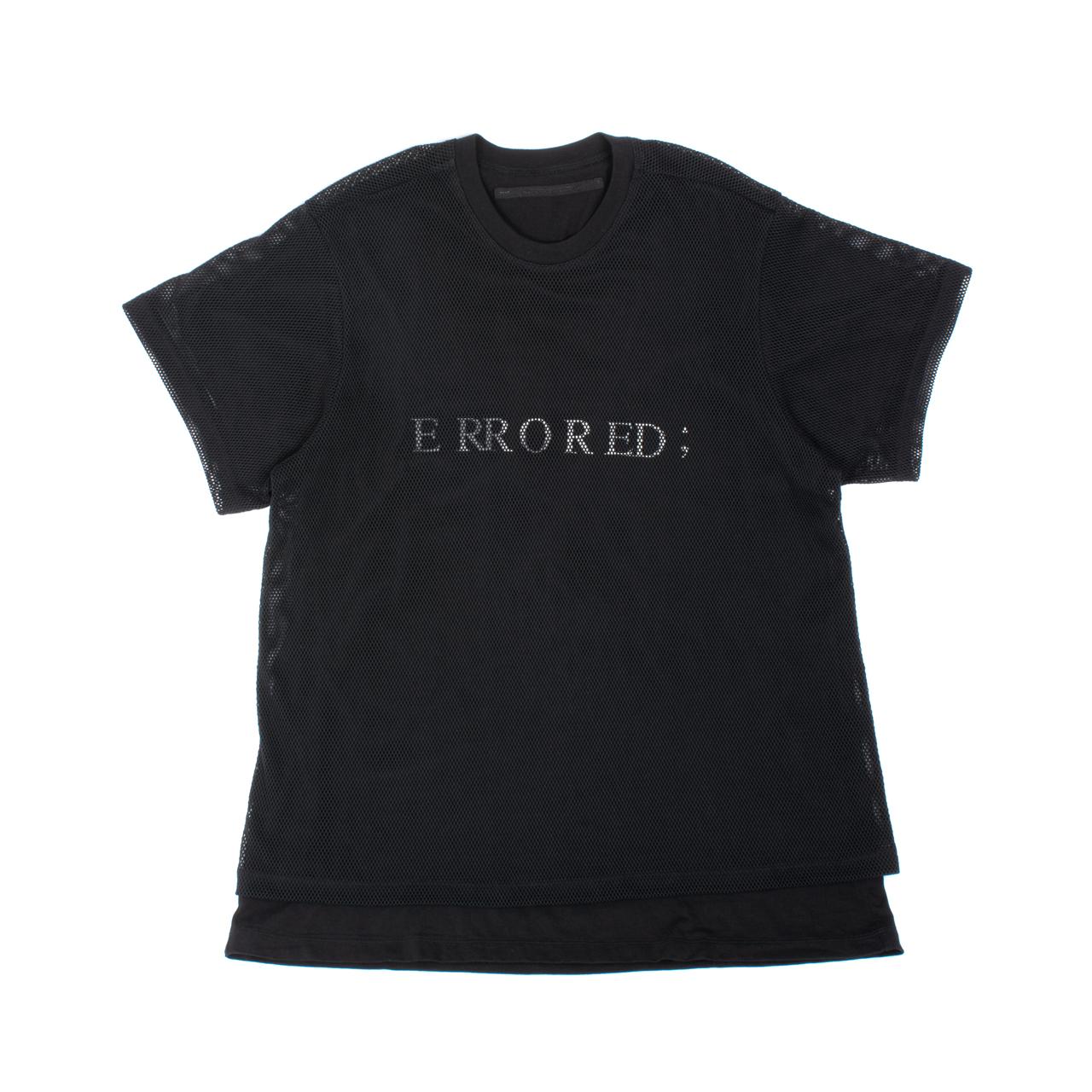 707CUM9-BLACK / メッシュレイヤーTシャツ