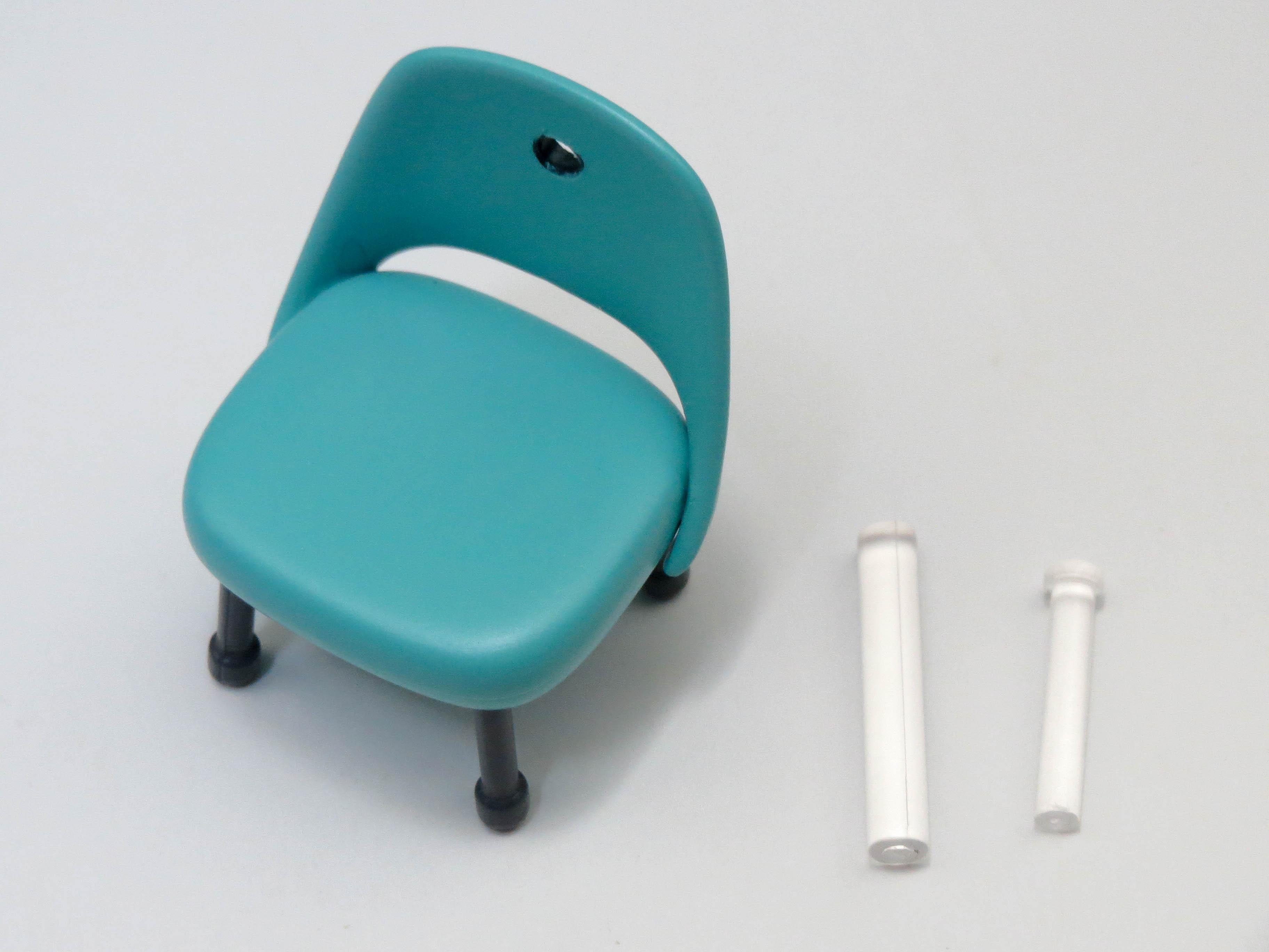 再入荷【738】 霞ヶ丘詩羽 小物パーツ 視聴覚室の椅子 ねんどろいど