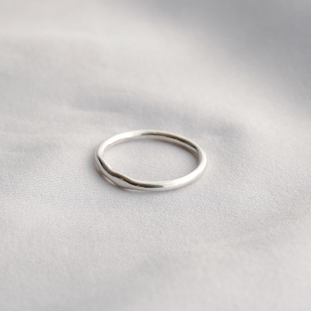 wave / ring (silver)