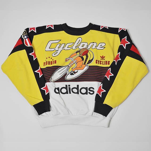 【Used】adidas cyclone crew neck sweat
