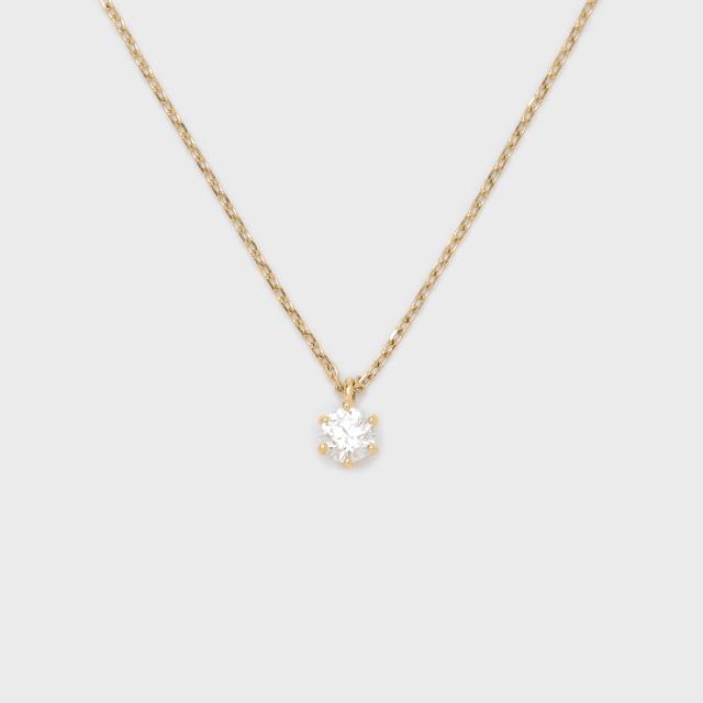ENUOVE frutta Diamond Necklace K18YG(イノーヴェ フルッタ 0.25ct K18イエローゴールド ダイヤモンドネックレス スライドアジャスターチェーン)