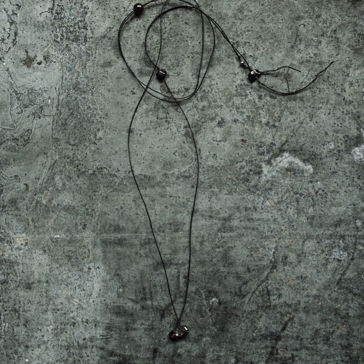 garnet beads necklace sasaki yuichi
