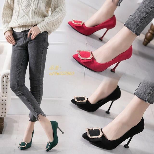7cm、10cmピンヒール ハイヒール 靴 オフィス お出かけ 通勤OL パーティー 美脚 レディース シューズ 全3色 女性 パンプス ポインテッドトゥ