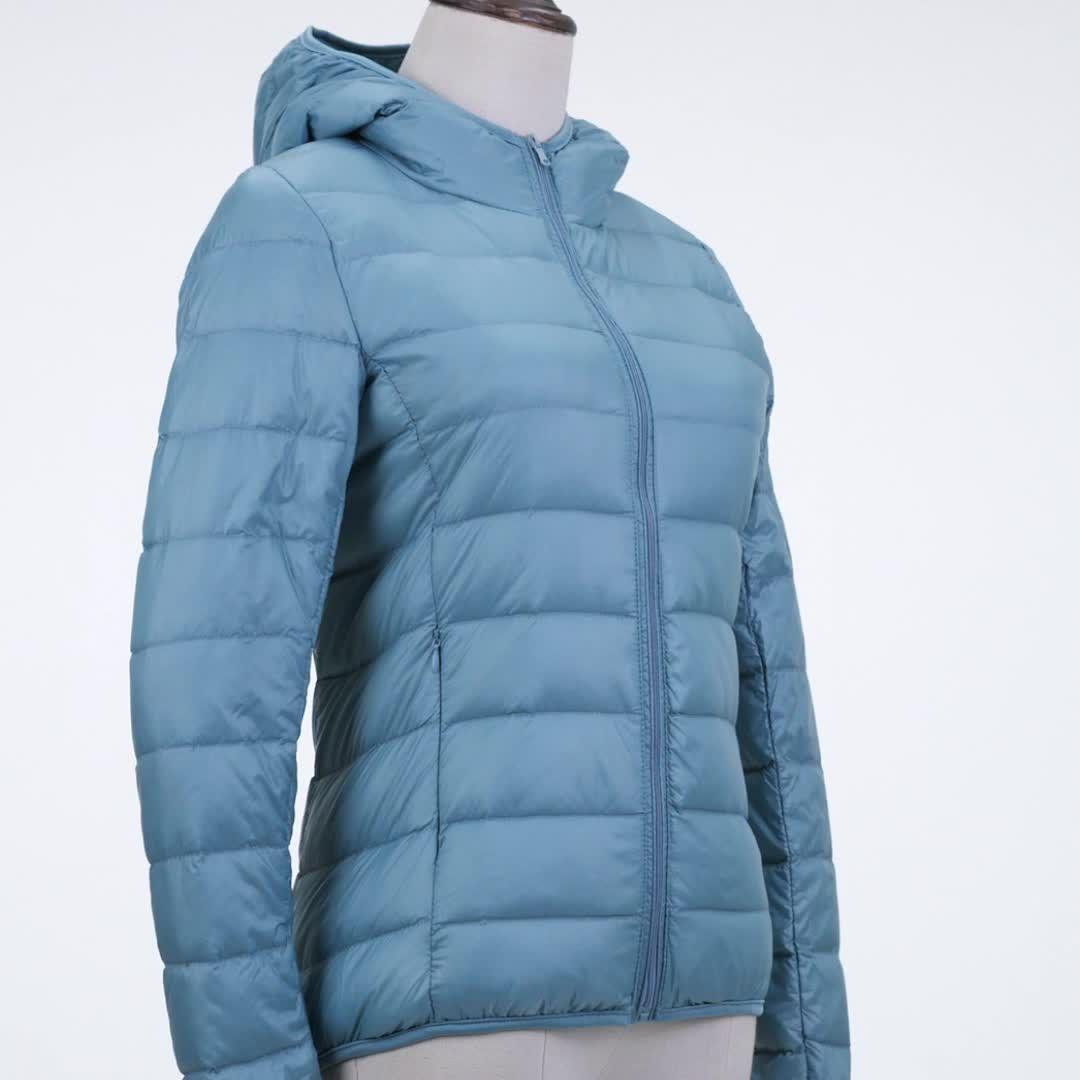 ダウン風 ジャケット レディース 2018 ライトダウンジャケット 短い 襟 大きなサイズ 薄い スリム 秋冬 ジャケット T110142008