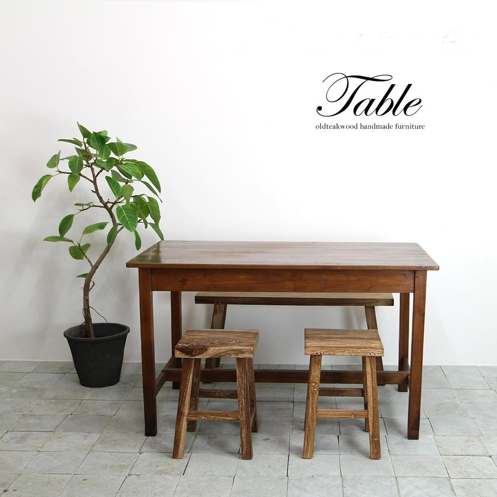 ●送料無料●アンティークテーブル125 ダイニングテーブル デスク