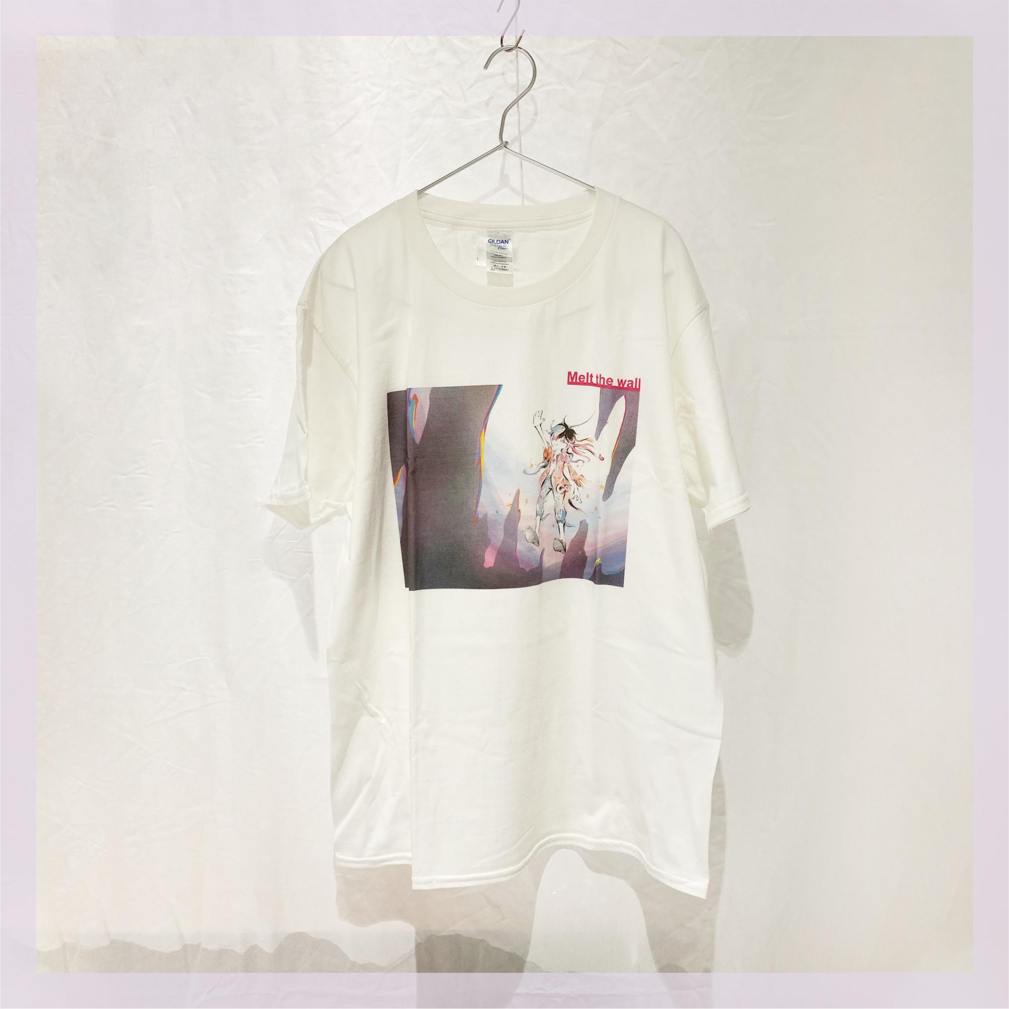 【Tシャツ】 壁は幻。溶かしてしまえ / ホワイト