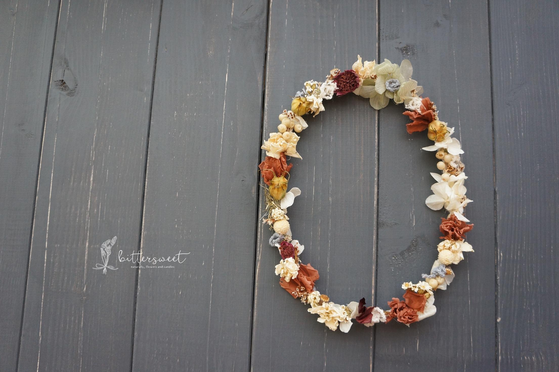 Wire wreath    no.005