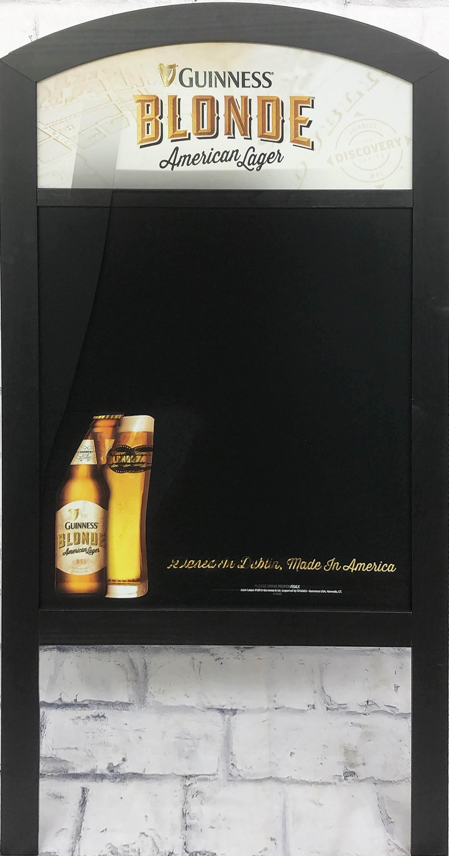 品番0047 サインボード 『GUINNESS BLONDE(ギネス ブロンド)』 スタンド 看板 アメリカン雑貨