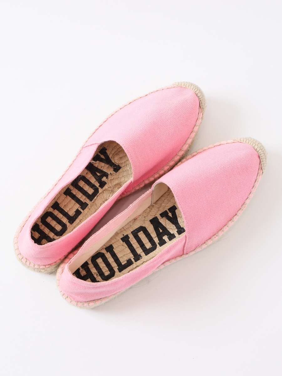 【HOLIDAY】DOUBLE SOLE ESPADRILLE