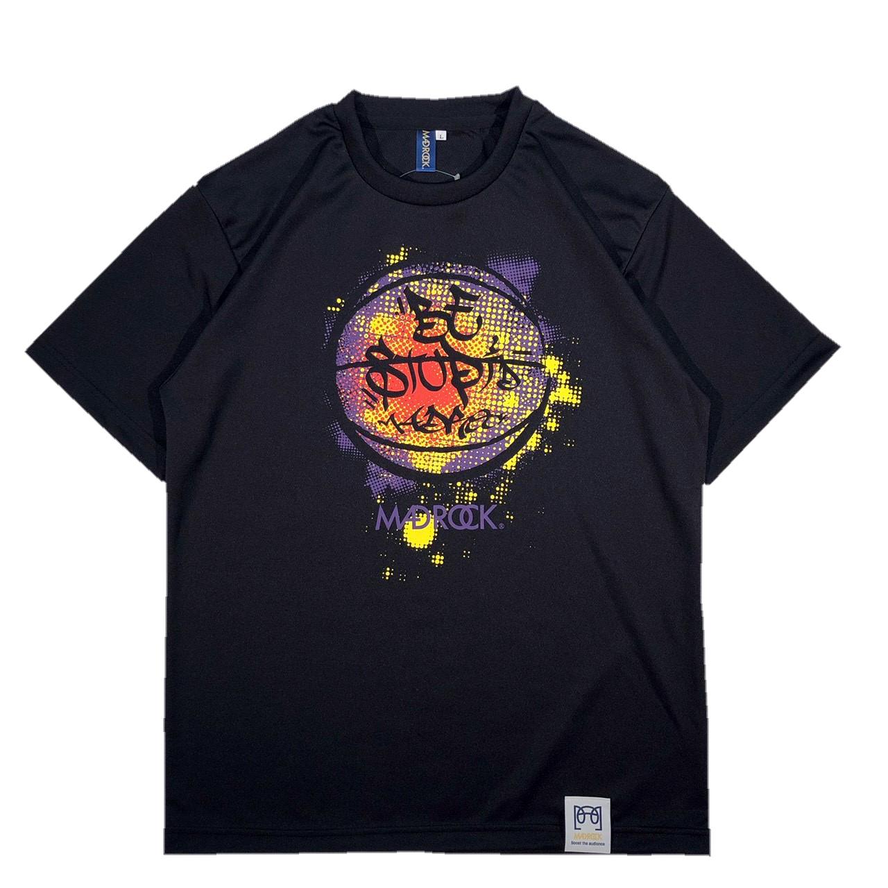 マッドロック -Be Stupid-Tシャツ/ドライタイプ/ブラック/MADROCK-Be Stupid-TEE